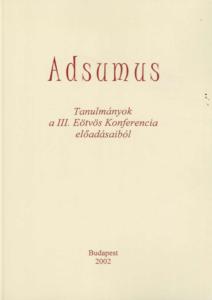Adsumus I.