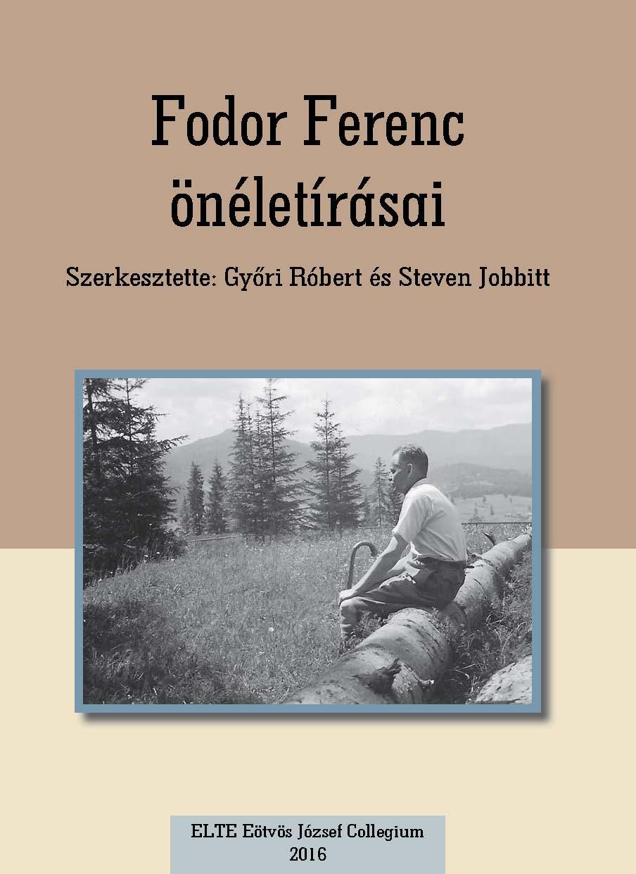 Fodor Ferenc önéletírásai borító